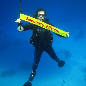 Specialty Nitrox bei Redsea-Divers